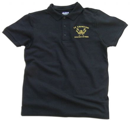 St Edmund Polo Shirt - Black